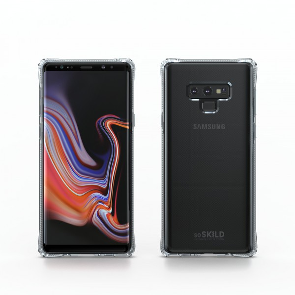 SoSkild Absorb Impact Back Case Transparant voor Samsung Galaxy Note 9