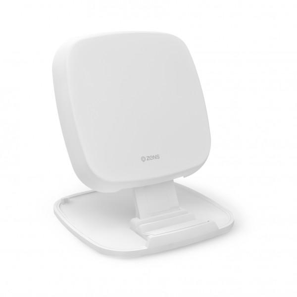 ZENS Wireless Charger Stand 10W Aluminium White