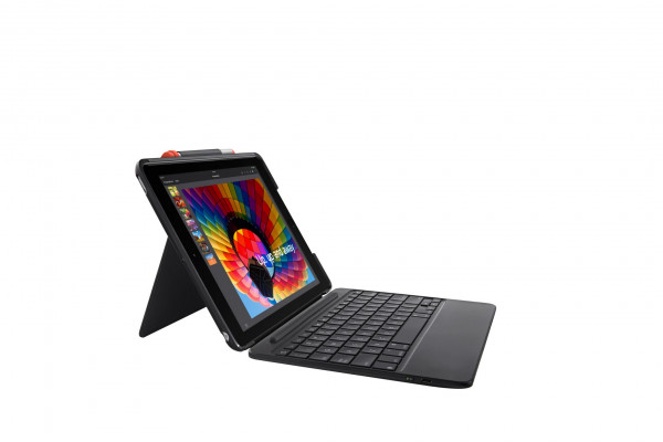 Logitech Keyboard Case Slim Combo French Black voor iPad 5th & 6th Gen