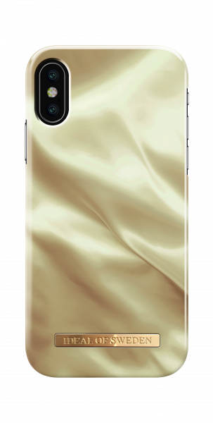 Ideal of Sweden iPhone X/XS Fashion Back Case Honey Satin