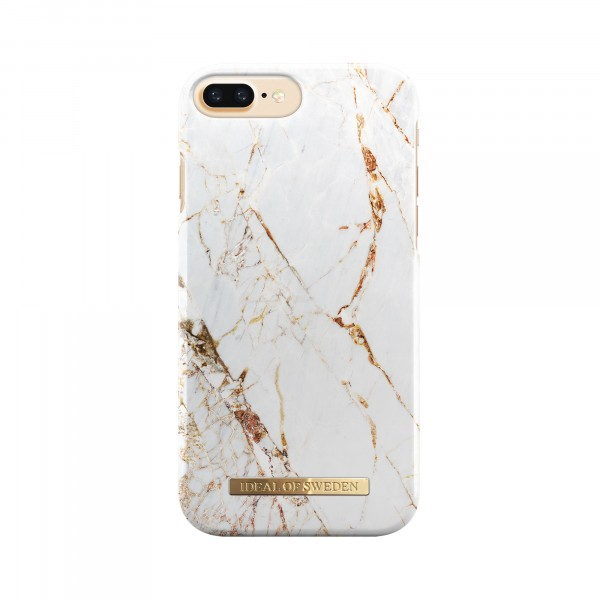 iDeal of Sweden Fashion Back Case Carrarra Gold voor iPhone 8 Plus 7 Plus