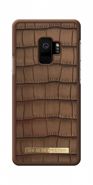 iDeal of Sweden Samsung Galaxy S9 Fashion Case Capri Brown Croco