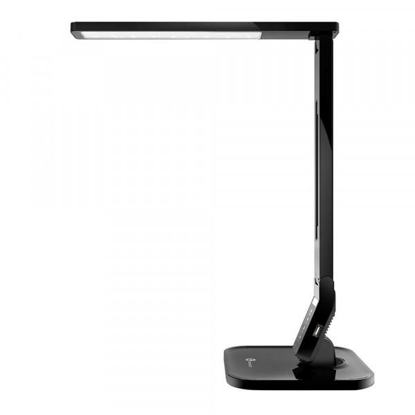Taotronics LED Bureaulamp | 4 Lichtstanden & 5 Helderheidsniveaus | USB-poort | Zwart
