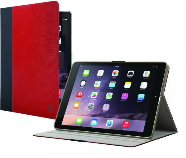 Cygnett TekView Slim Case Red Grey voor iPad Pro 10.5