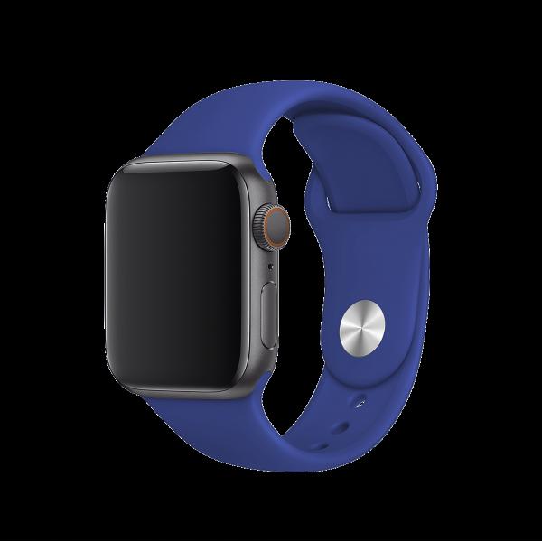 BeHello Premium Apple Watch Bandje 42/44 mm voor Apple Watch - Blauw