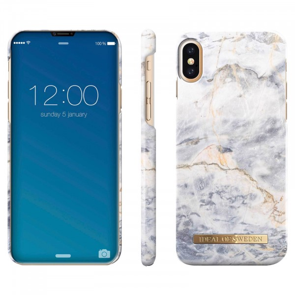 iDeal of Sweden iPhone X Fashion Back Case Ocean Marble
