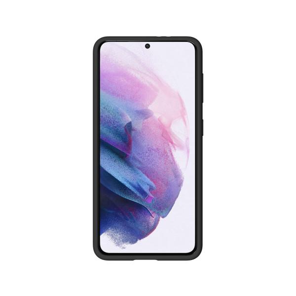 BeHello Samsung Galaxy S21 Liquid Silicone Case Black