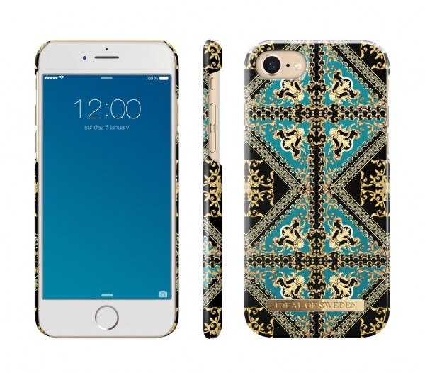 iDeal of Sweden Fashion Back Case Baroque Ornament voor iPhone 8 / 7 / 6 / 6S