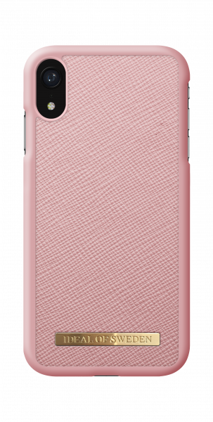 iDeal of Sweden iPhone Xr Fashion Case Saffiano Pink