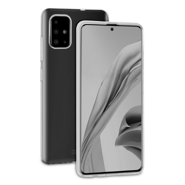 BeHello Samsung Galaxy A51 ThinGel Siliconen Hoesje Transparant