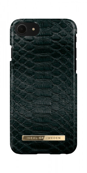iDeal of Sweden iPhone 8 / 7 / 6 / 6s / SE Fashion Case Black Reptile