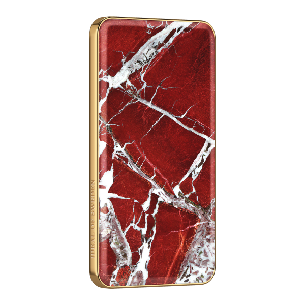 iDeal of Sweden Fashion Powerbank Scarlet Red Marble