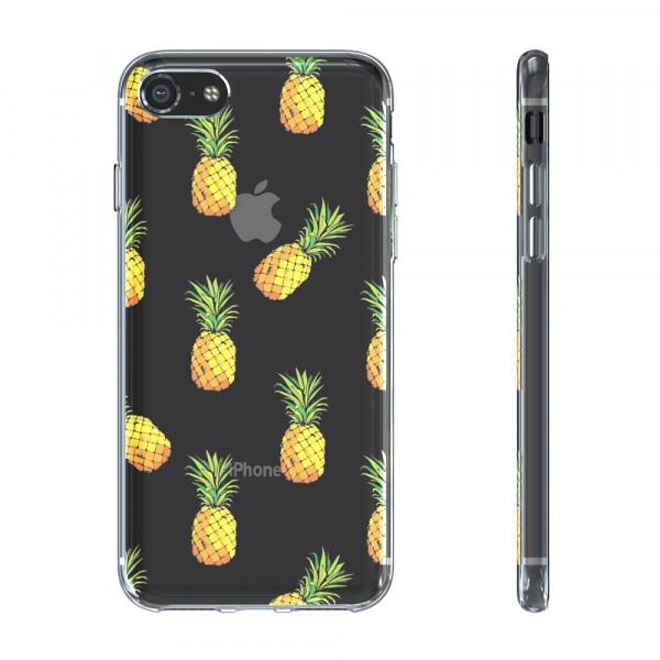 BeHello Premium Gel Case Pineapple voor iPhone 8 7