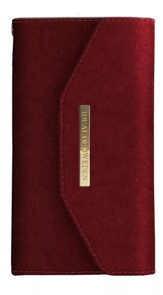 iDeal of Sweden Samsung Galaxy S10 Mayfair Clutch Velvet Red