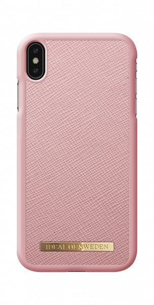 iDeal of Sweden iPhone XS Max Fashion Case Saffiano Pink