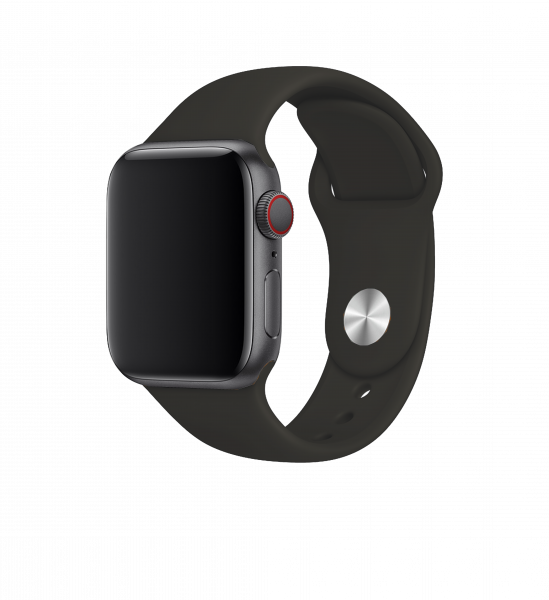 BeHello Premium Siliconen Band 38/40mm voor Apple Watch Zwart