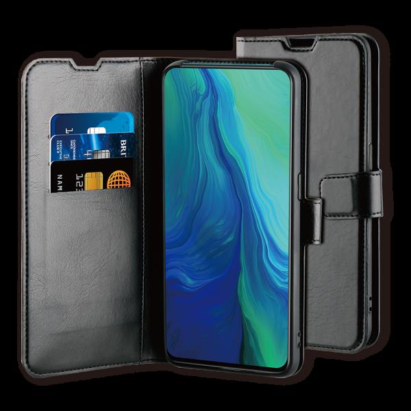 BeHello Oppo RX19 Pro Gel Wallet Case Black