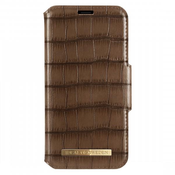 iDeal of Sweden Samsung Galaxy S10+ Fashion Wallet Capri & Como Brown Croco