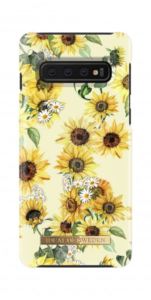 iDeal of Sweden Samsung Galaxy S10 Fashion Back Case Sunflower Lemonade