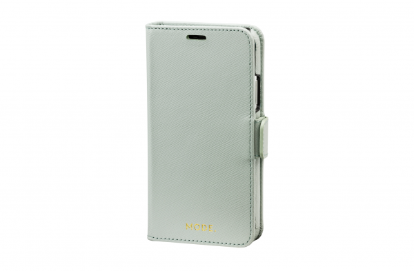 dbramante1928 MODE New York 2-in-1 Wallet Case Misty Mint voor iPhone X Xs