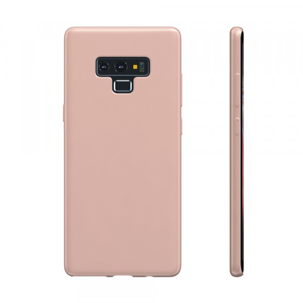 BeHello Premium Samsung Galaxy Note 9 Siliconen Hoesje Roze