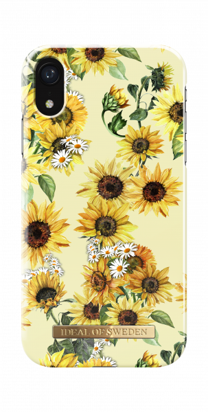 iDeal of Sweden iPhone Xr Fashion Back Case Sunflower Lemonade