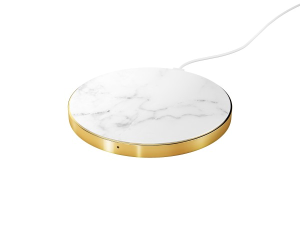 iDeal of Sweden Qi Charger White Marble