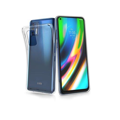 SBS Motorola Moto G9 Plus Skinny Cover Case Transparent