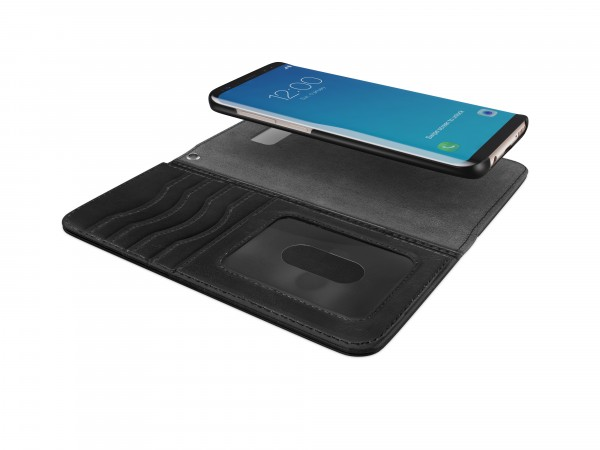 iDeal of Sweden Samsung Galaxy S8+ Magnet Wallet+ Case Black
