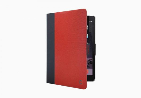 Cygnett TekView with Apple Pencil Holder TPU Shell Red voor iPad (2017)