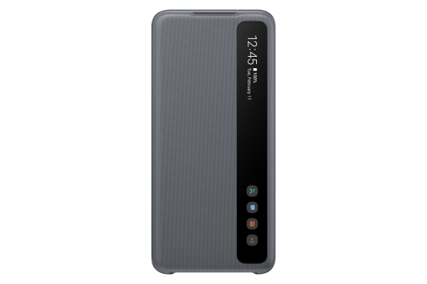 Samsung Galaxy S20 Clear View Cover Grey