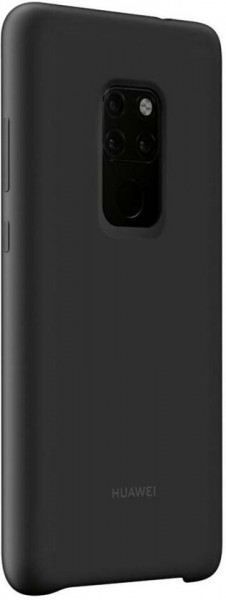Huawei Mate 20 Silicon Magnetic Car Case Black