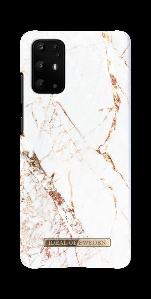 iDeal of Sweden Samsung S20+ Fashion Back Case Carrarra Gold