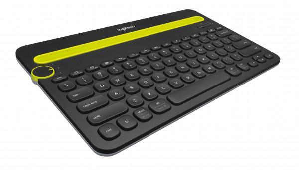 Logitech K480 Bluetooth Multi-Device Keyboard US Int Black