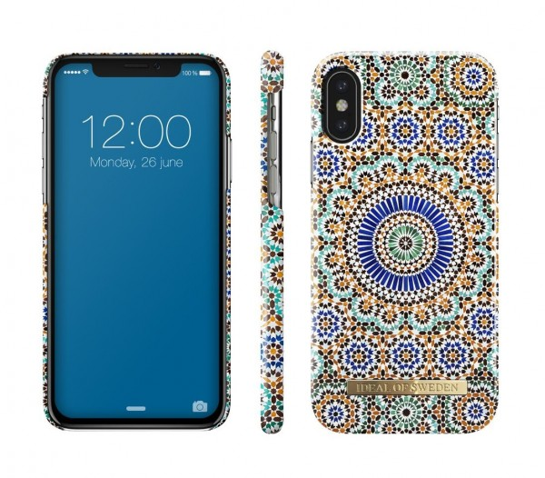 iDeal of Sweden Fashion Back Case Moroccan Zellige voor iPhone Xs X
