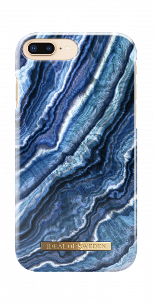iDeal of Sweden iPhone 8 Plus / 7 Plus / 6S Plus / 6 Plus Fashion Back Case Indigo Swirl