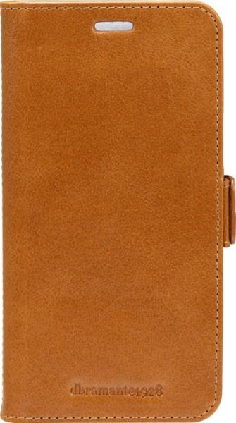 Dbramante1928 iPhone Xs Max 2-in-1 Wallet Case Lynge Tan