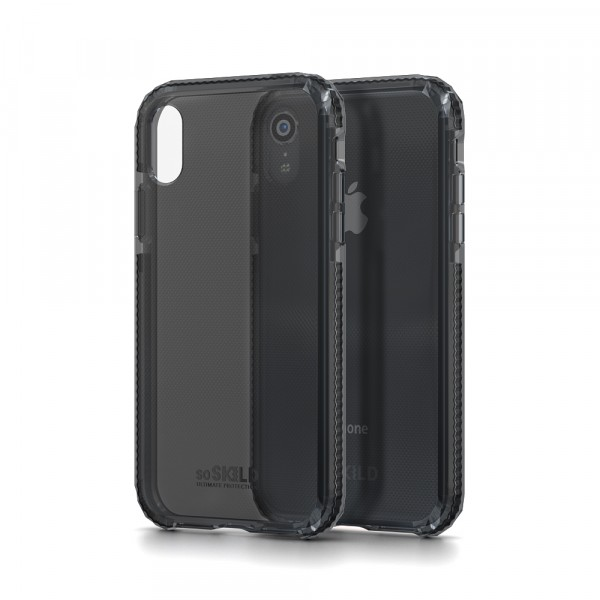 SoSkild Defend Heavy Impact Case Smokey Grey voor Iphone Xr