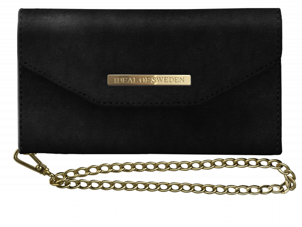iDeal of Sweden iPhone XS/X Mayfair Clutch Velvet Black