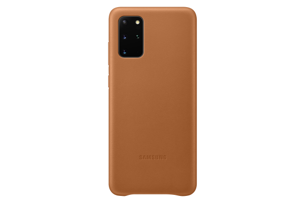 Samsung Galaxy S20+ Leather Cover Brown