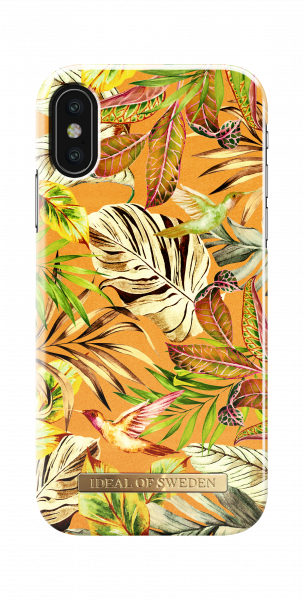 iDeal of Sweden iPhone XS/X Fashion Back Case Mango Jungle