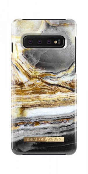 iDeal of Sweden Samsung Galaxy S10 Fashion Back Case Outer Space Agate