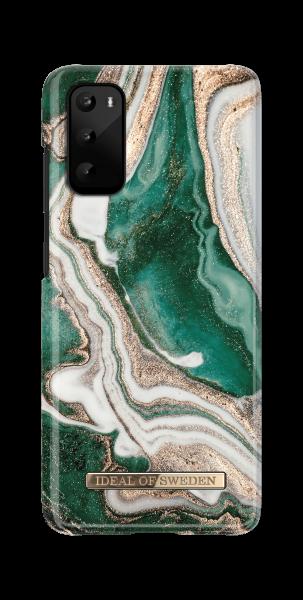 iDeal of Sweden Samsung S20 Fashion Back Case Golden Jade Marble