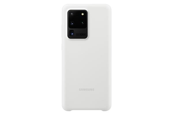 Samsung Galaxy S20 Ultra Silicone Cover White