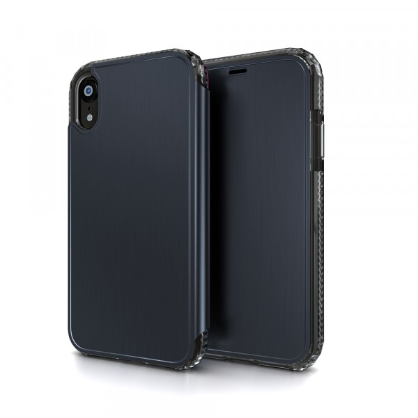 SoSkild Defend Wallet Impact Case Zwart voor iPhone Xr