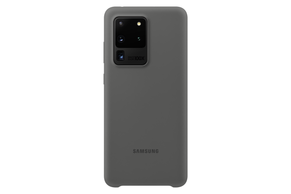 Samsung Galaxy S20 Ultra Silicone Cover Grey