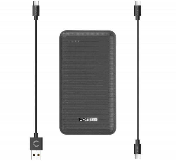 Cygnett Wireless Power Bank 10000mAh ChargeUp Companion 10W Black