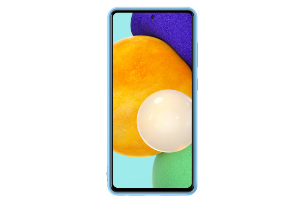 Samsung A52 Silicone Cover Case Blue