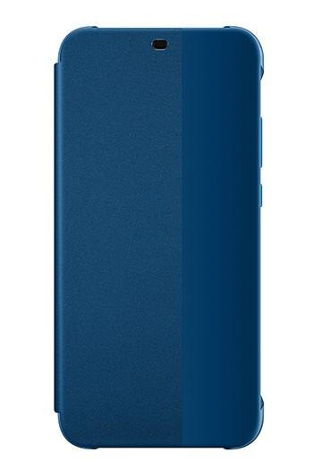 Huawei View Flip Cover Blauw voor Huawei P20 Lite