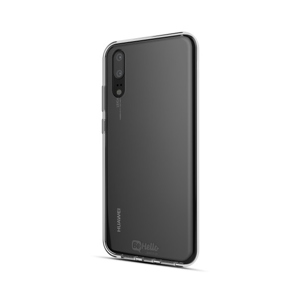 BeHello Huawei P20 Gel Case Clear Transparant